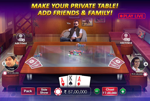 Teen Patti Gold - With Poker & Rummy 3.69 APK